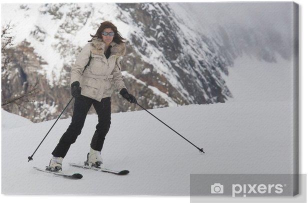 Obraz na płótnie Szlak kobieta - Sporty indywidualne