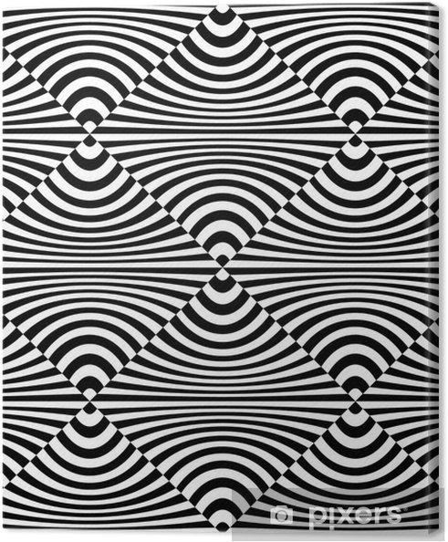 Obraz na płótnie Sztuka optyczna - Znaki i symbole