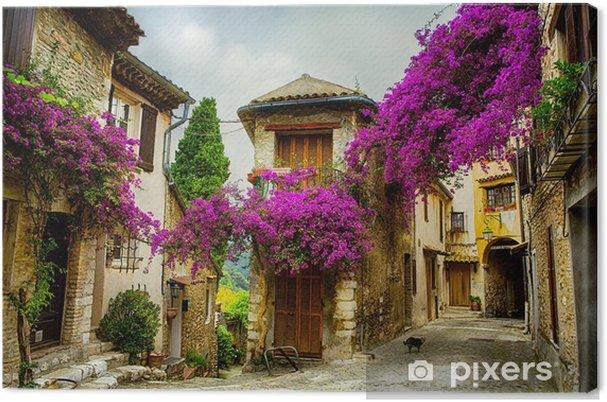Obraz na płótnie Sztuki piękne stare miasto w Prowansji - Tematy