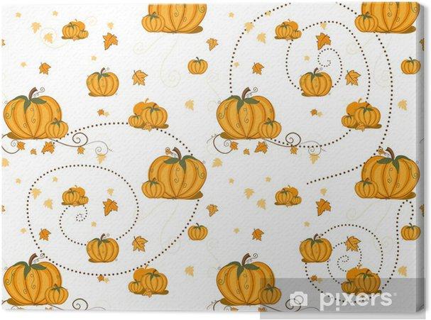 Obraz na płótnie Szwu - Pumpkins - Święta międzynarodowe