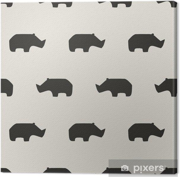 Obraz na płótnie Szwu rhino - Zasoby graficzne