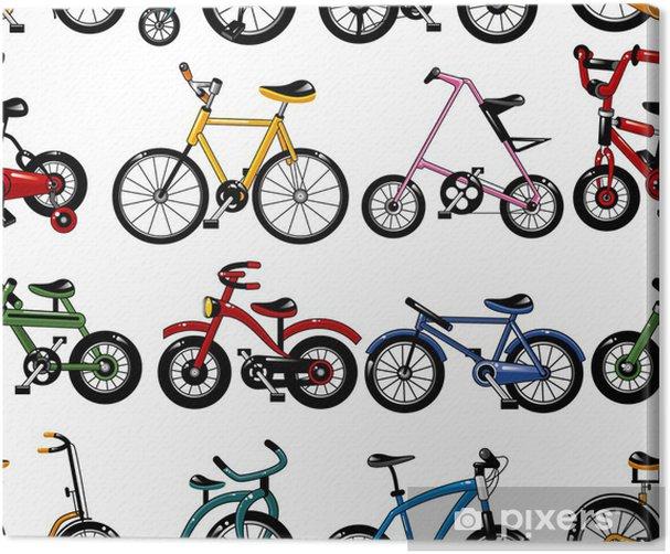 Obraz na płótnie Szwu rower - Tła
