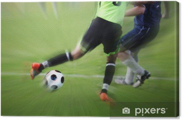 Obraz na płótnie Szybkie tempo akcji - Sporty drużynowe