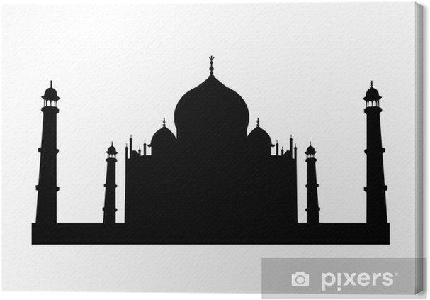 Obraz na płótnie Tadż Mahal - Wakacje