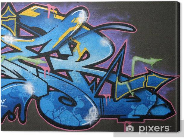 Obraz na płótnie Tag, graffiti - Tematy