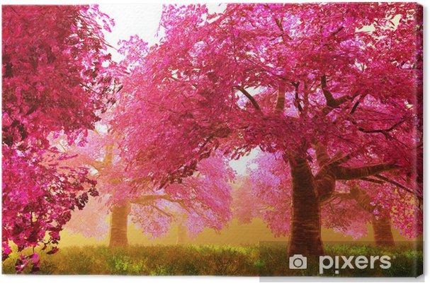 Obraz na płótnie Tajemnicze Wiśnie Blossom - Style