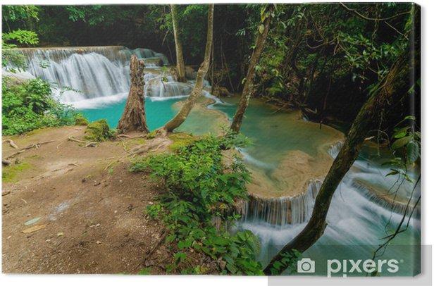 Obraz na płótnie Tajlandia wodospad w Kanjanaburi (Huay Mae kamień) - Natura i dzicz