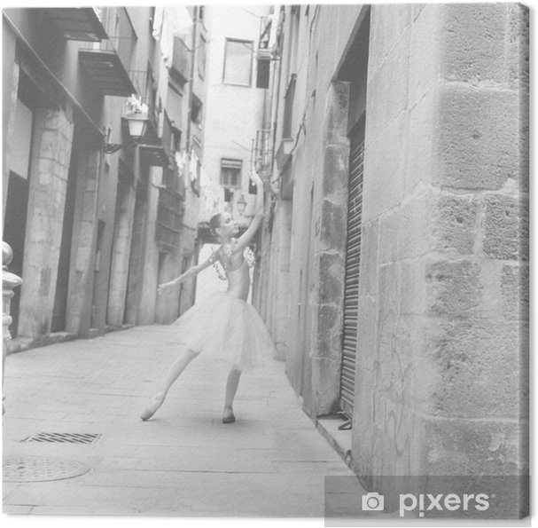 Obraz na płótnie Tancerz 6 - Tematy