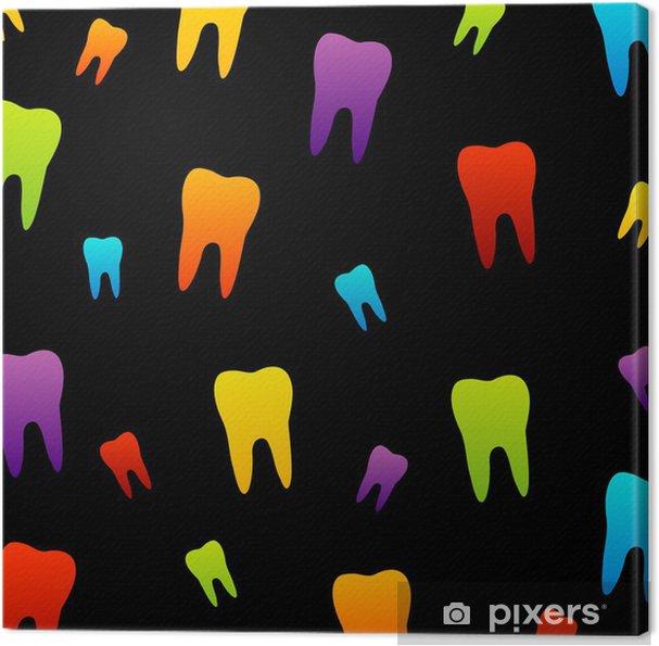 Obraz na płótnie Tapety ząb za dentysty - Zdrowie i medycyna
