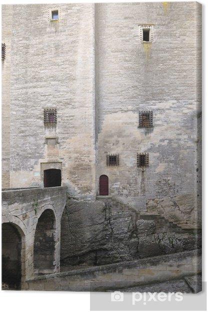 Obraz na płótnie Tarascon, zamek, król René - Zabytki