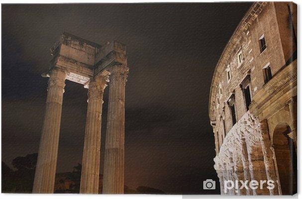 Obraz na płótnie Teatr Marcellusa i Apollo sosiano świątyni - Miasta europejskie