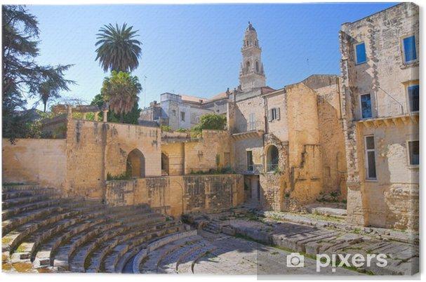 Obraz na płótnie Teatr rzymski. Lecce. Apulia. Włochy. - Wakacje