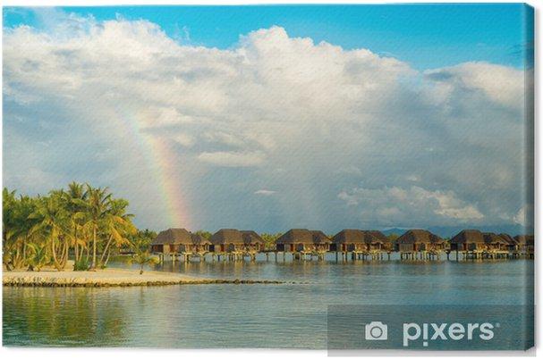 Obraz na płótnie Tęcza nad raju - Oceania
