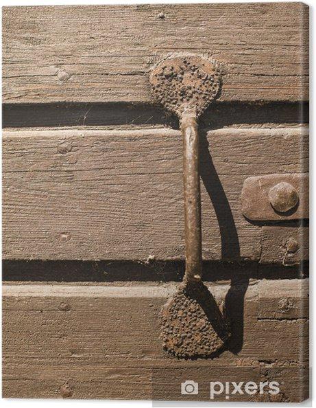 Obraz na płótnie Teksturą tle drewniane drzwi - Zabytki