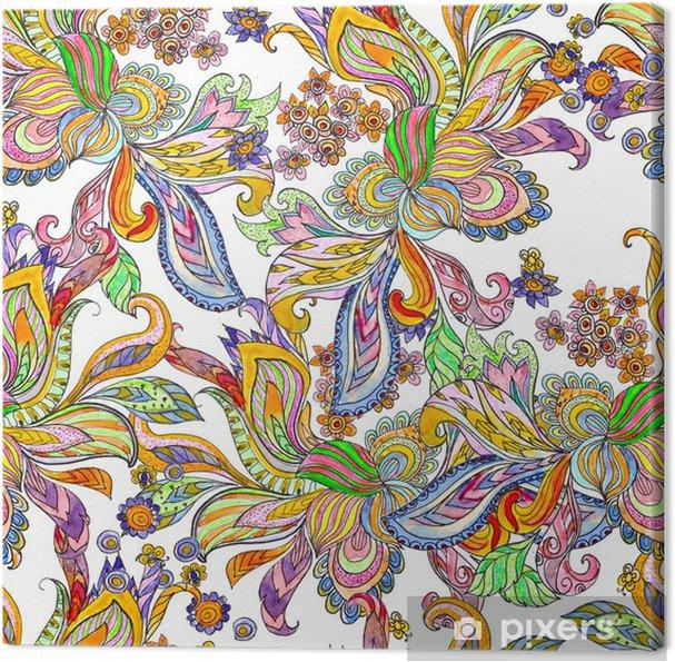 Obraz na płótnie Tekstury bez szwu abstrakcyjna akwarela - Sztuka i twórczość