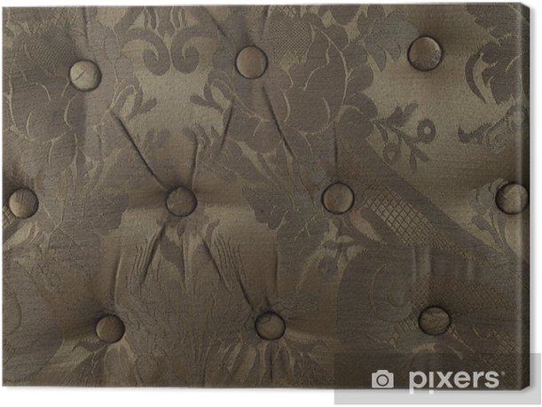 Obraz na płótnie Tekstury otomana poduszki - Tekstury