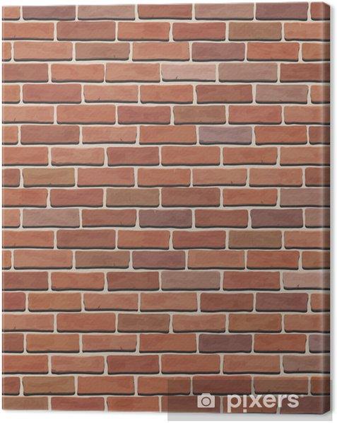 Obraz na płótnie Tekstury ścian cegła - Style