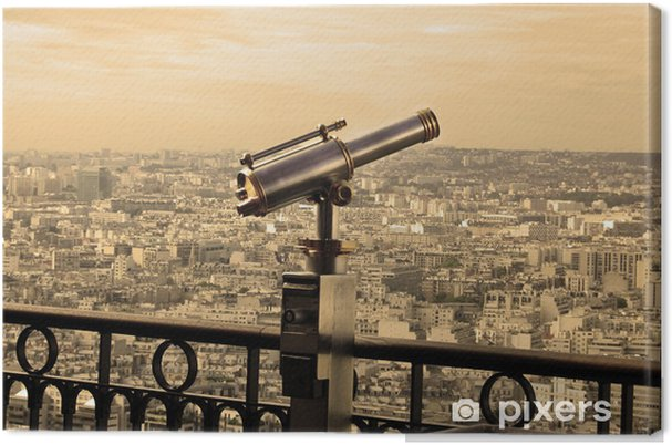Obraz na płótnie Telecope - Miasta europejskie