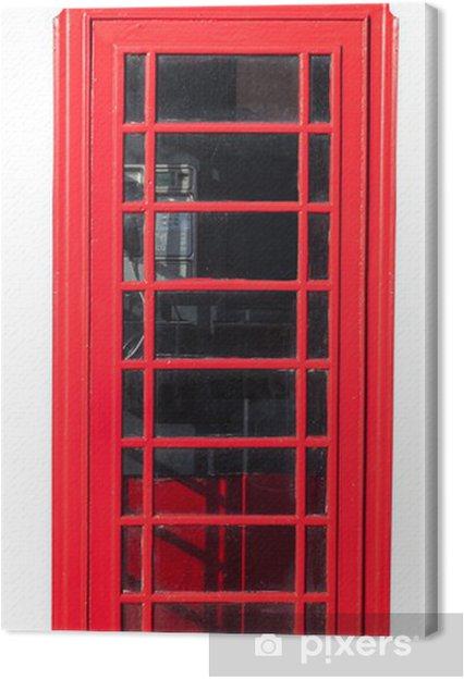 Obraz na płótnie Telefon Red Box na białym tle - Europa