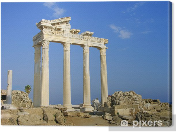Obraz na płótnie Temple of Apollo, Side, Turcja - Europa