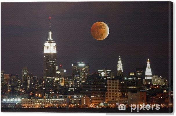 Obraz na płótnie Th New York City Skyline - Miasta amerykańskie