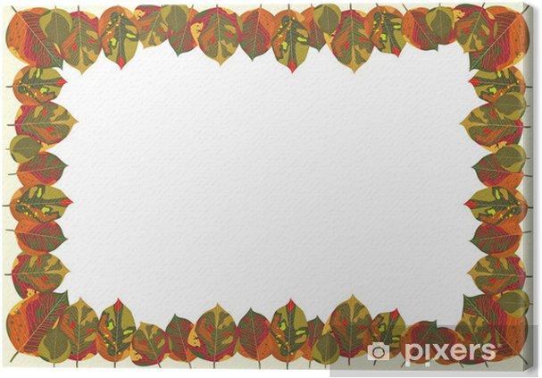 Obraz na płótnie Theme Design jesień - Znaki i symbole