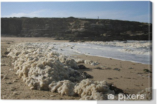 Obraz na płótnie Tide szumowin Kerroc'h - Klęski żywiołowe