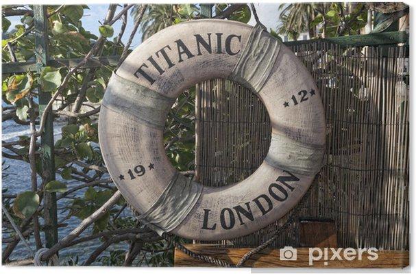 Obraz na płótnie Titanic statek boja życie - Transport wodny