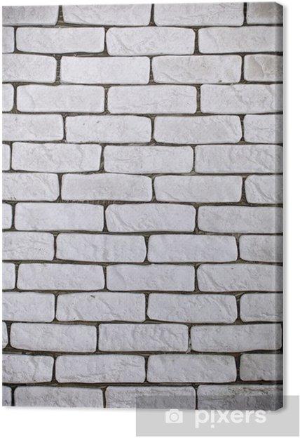 Obraz na płótnie Tło białe cegły ściany tekstury - Tematy