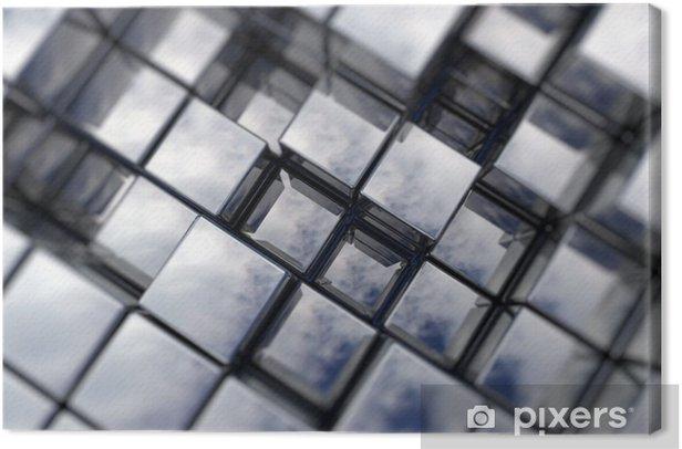 Obraz na płótnie Tło Cubes - Tła
