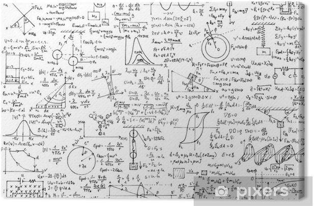 Obraz na płótnie Tło Fizyka - iStaging