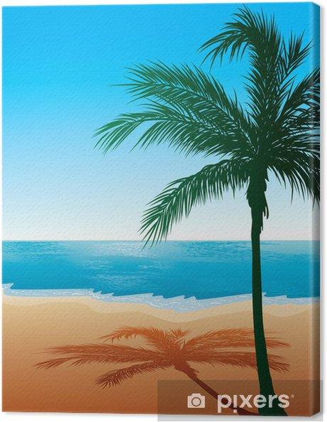 Obraz na płótnie Tło Plaża 9 - Hawaje