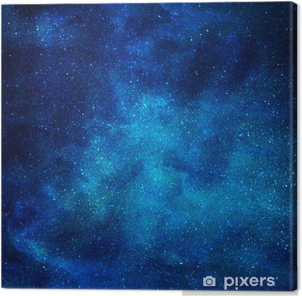 Obraz na płótnie Tło przestrzeni z gwiazdami - Tematy