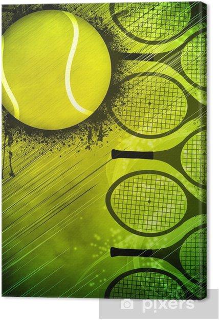 Obraz na płótnie Tło Tenis - Tenis
