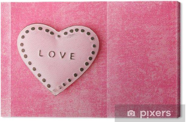 Obraz na płótnie Tło Walentynki - Święta międzynarodowe