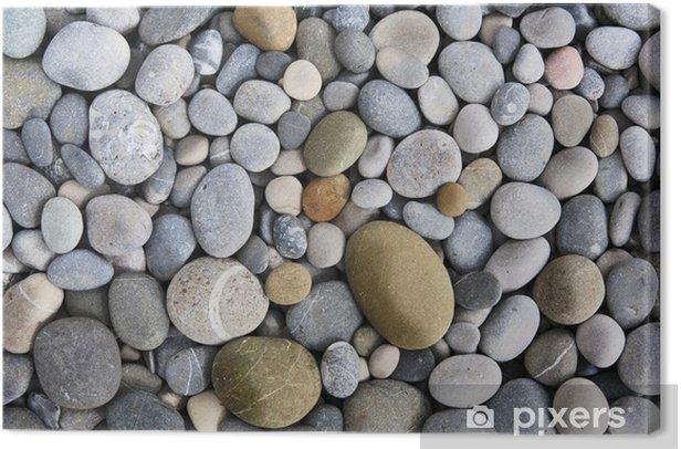 Obraz na płótnie Tło z kamieni rundy peeble - Tematy