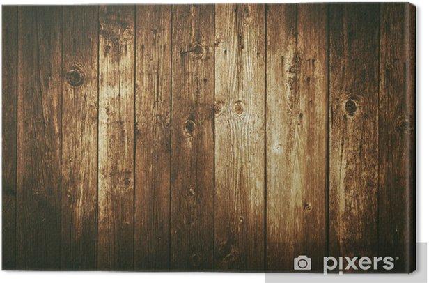 Obraz na płótnie Tło zabytkowe ciemne drewno - Tła