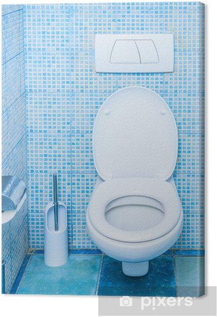 Obraz Na Płótnie Toaleta W łazience
