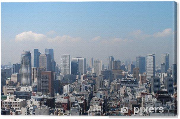 Obraz na płótnie Tokio panoramę centrum biznesowe - Azja