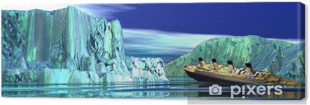 Obraz na płótnie Tonący statek Titanic - Tematy