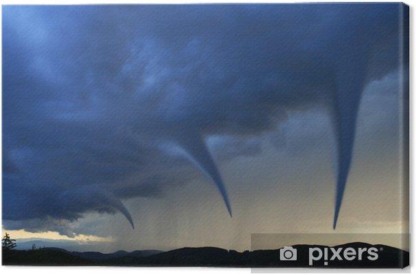 Obraz na płótnie Tornado - Klęski żywiołowe