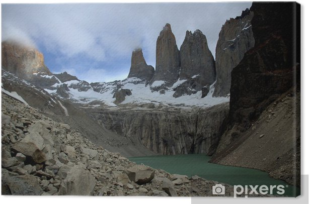 Obraz na płótnie Torres del Paine, Chile - Ameryka