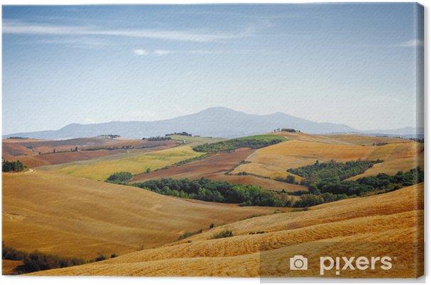 Obraz na płótnie Toskania krajobraz - Tematy