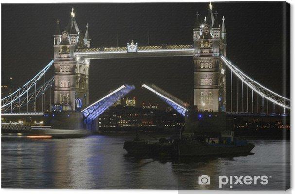 Obraz na płótnie Tower Bridge w nocy. Londyn. Anglia - Tematy
