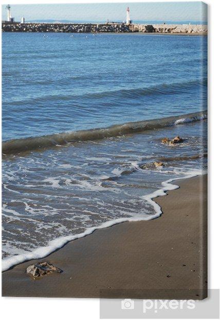 Obraz na płótnie Track4 - Woda