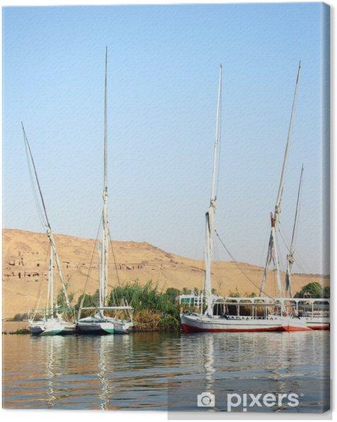 Obraz na płótnie Tradycyjny egipski statek - Wakacje