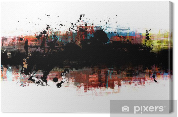 Obraz na płótnie Transparent - Sztuka i twórczość
