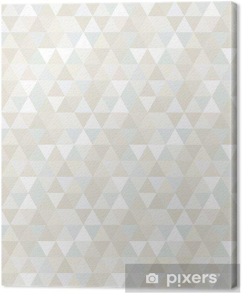 Obraz na płótnie Trójkąt Wzór bez szwu, tła, tekstury -