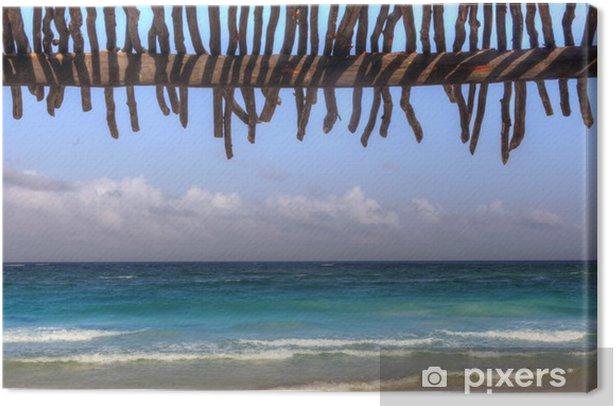 Obraz na płótnie Tropical Beach Cabin - Wakacje