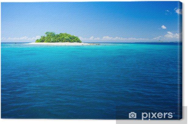 Obraz na płótnie Tropikalna wyspa raj wakacje - Wakacje